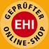 Geprüfter EHI Online-Shop - Mit geprüfter Qualität, Sicherheit und Transparenz ist www.reifen.com in hohem Maße vertrauenswürdig.