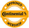 continental approved webshop