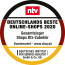 ntv: Germany's best online shops 2019. reifen com is the overall winner for automotive accessories.