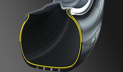 Hochfeste Reifenkonstruktion