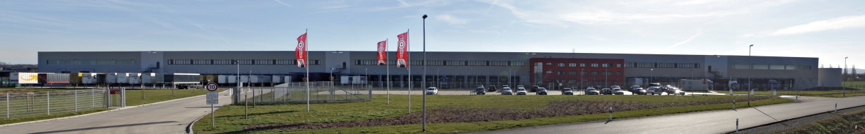 Figure logistics centre Hildesheim