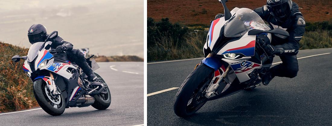 Motorrad und Reifen Sportec-M9 von Metzler