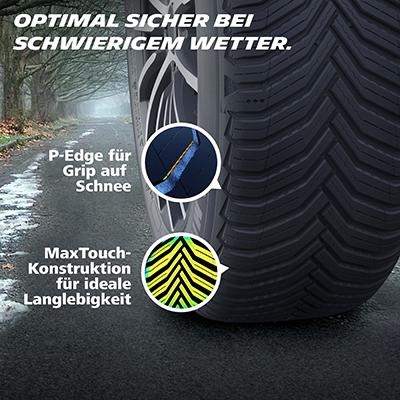 Michelin Crossclimate2 Bremsverhalten