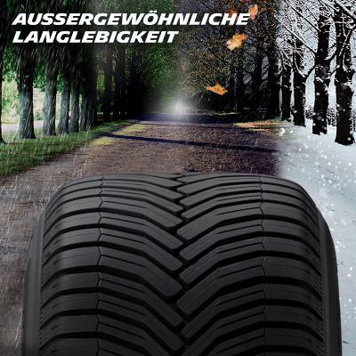 Michelin Crossclimate+ Langlebigkeit