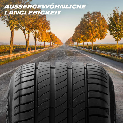 Michelin Primacy 4 Langlebigkeit