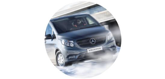 Um 5 % besseres Brems- und Fahrverhalten bei Schnee*