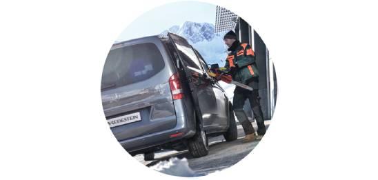 Um mehr als 20 % verbesserte Reifenlebensdauer*