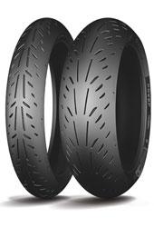 Foto 180/55 ZR17 (73W) Power Supersport Rear M/C Michelin