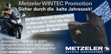 Metzeler WINTEC Promotion