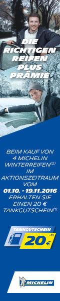 Michelin - 20 Euro Tankgutschein