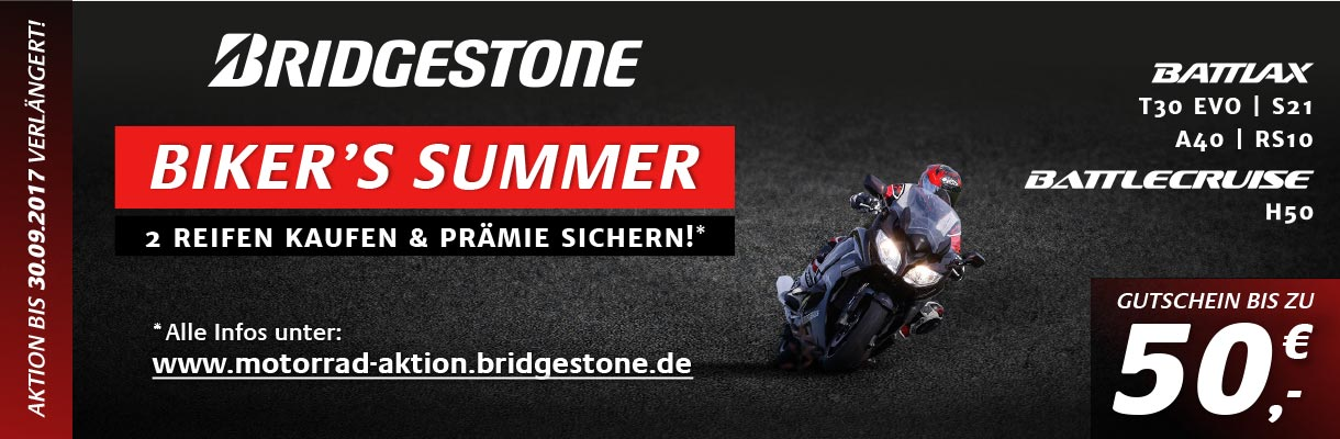 Bridgestone Biker's Summer