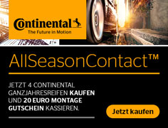 Continental - Gutscheinaktion