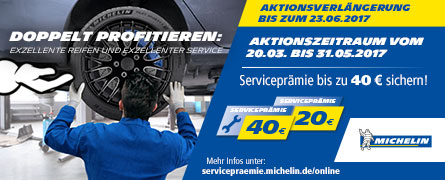 Michelin - PKW Serviceprämie