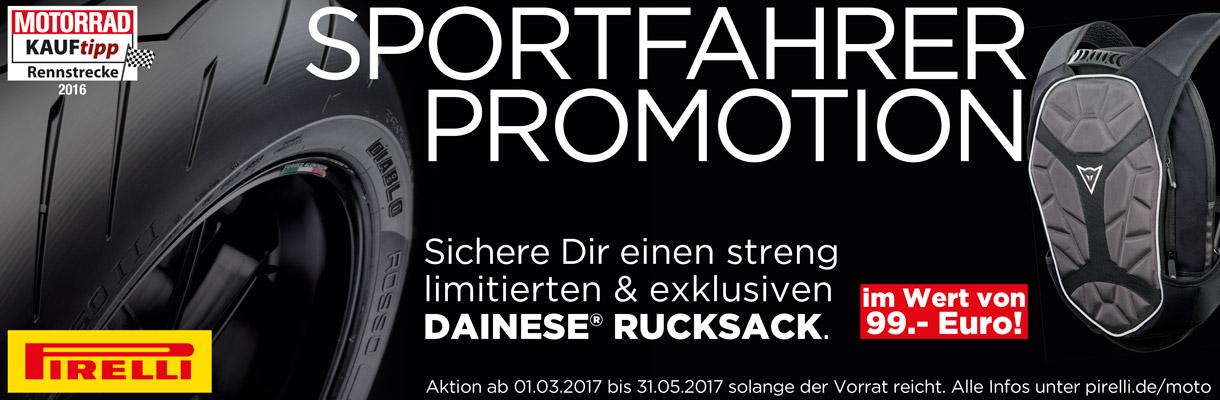 Pirelli-Sportfahrer Promotion