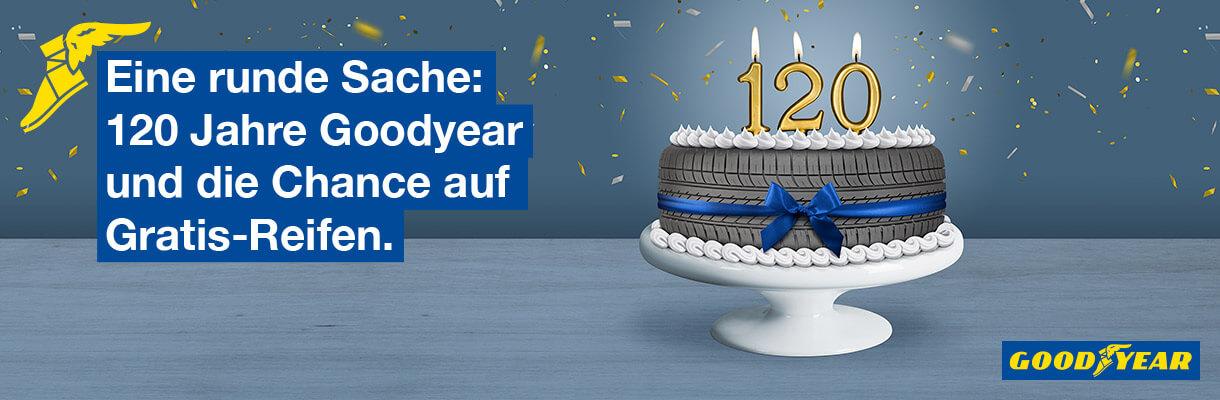120 Jahre Goodyear