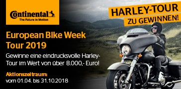 Continental - Harley Tour 2018