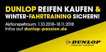 Dunlop Winter-Fahrtraining