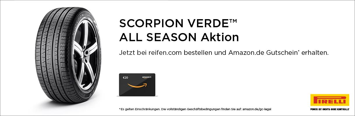 Pirelli All Season Aktion