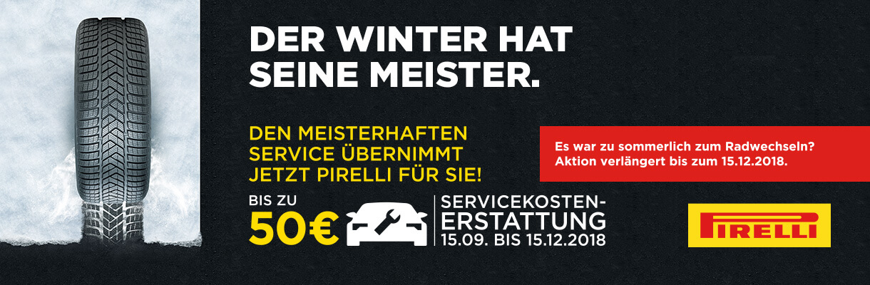 Pirelli Winter Promotion