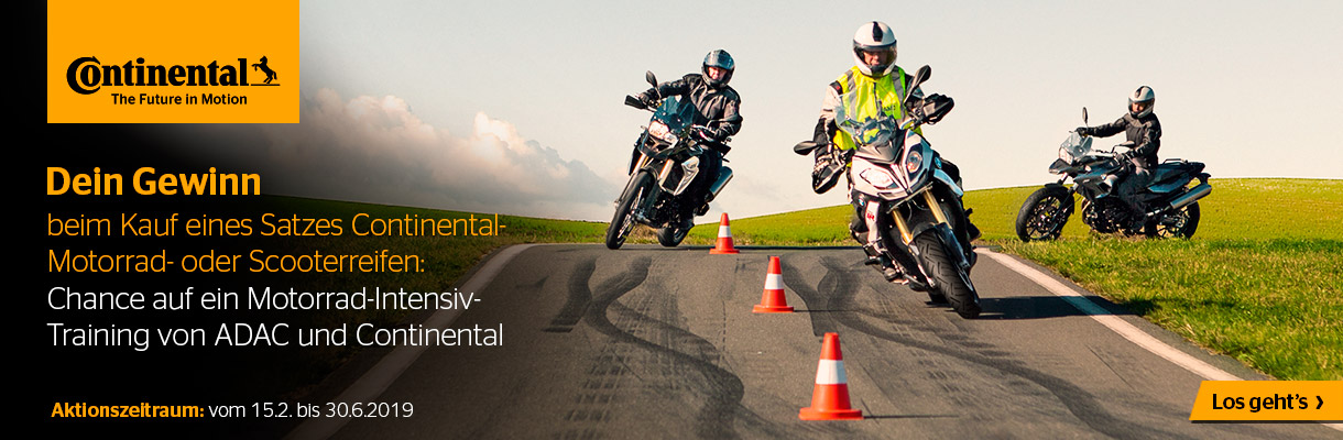 Continental Motorrad-Intensiv-Training
