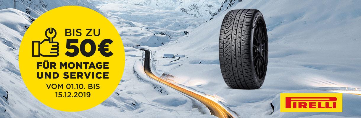 Pirelli Winter 2019 Aktion