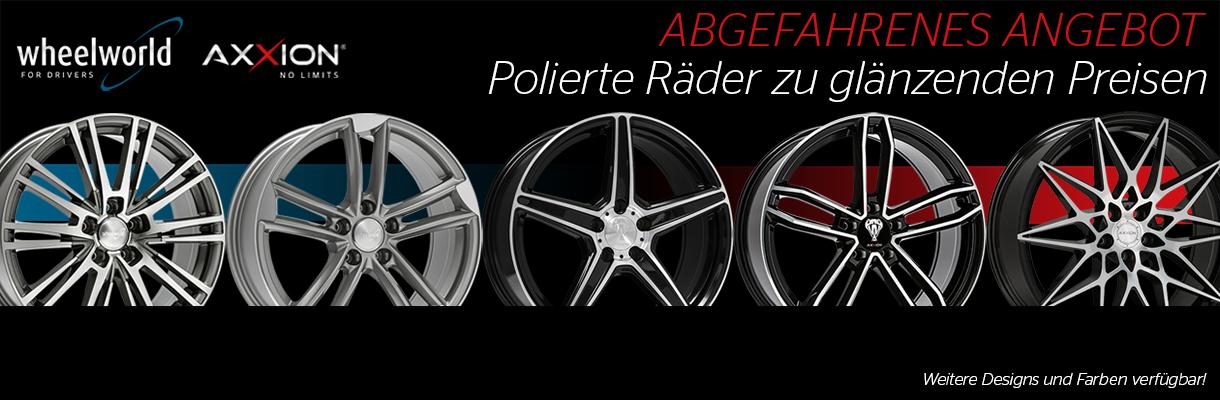 Wheelworld- Polierte Räder zu glänzenden Preisen