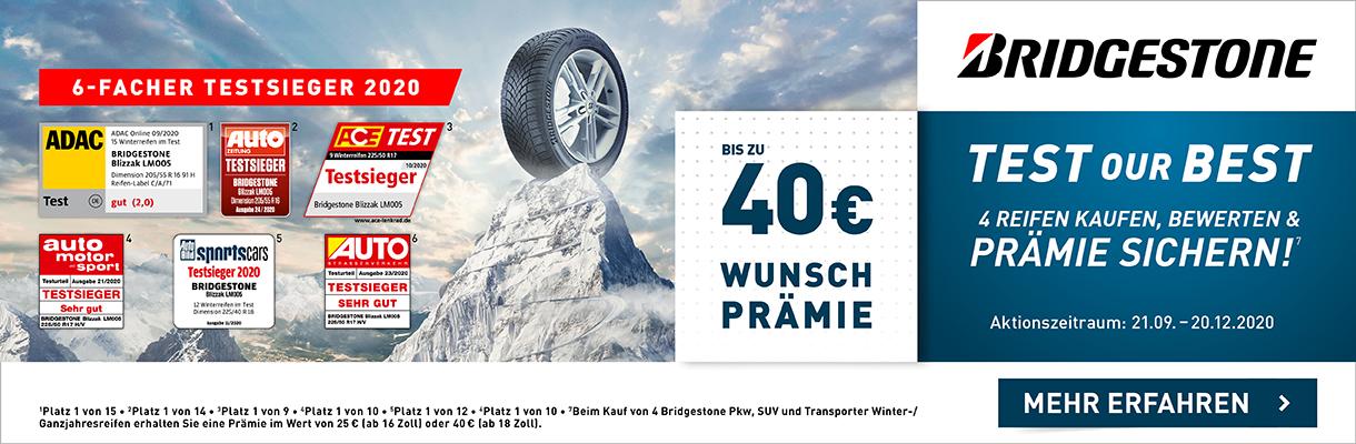 Bridgestone Test Our Best Winter 2020l