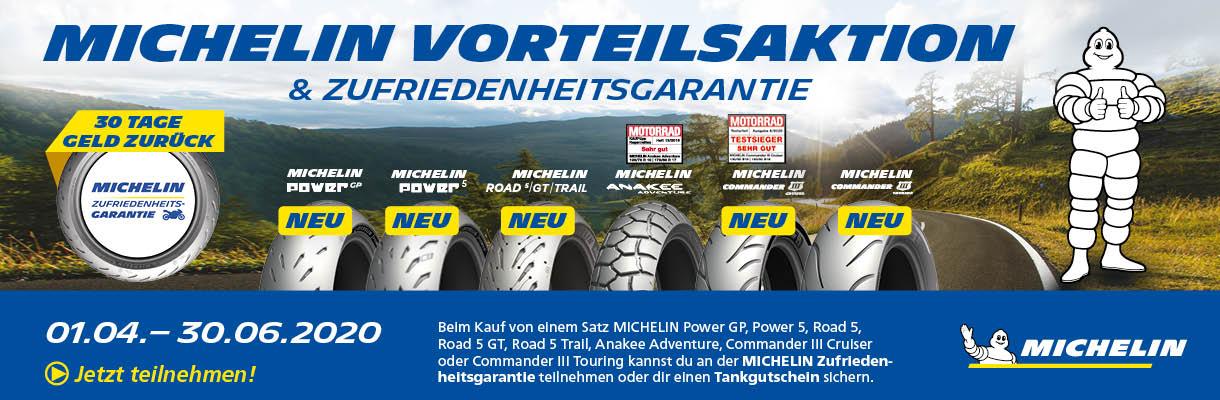 Michelin Vorteilsaktion Gewinnspiel