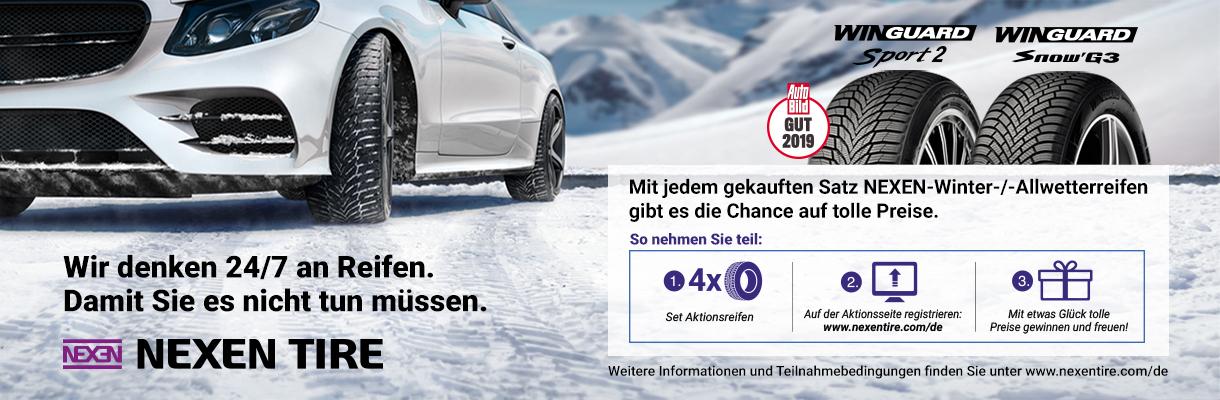 Nexen Reifen Gewinnspiel Winter 2020