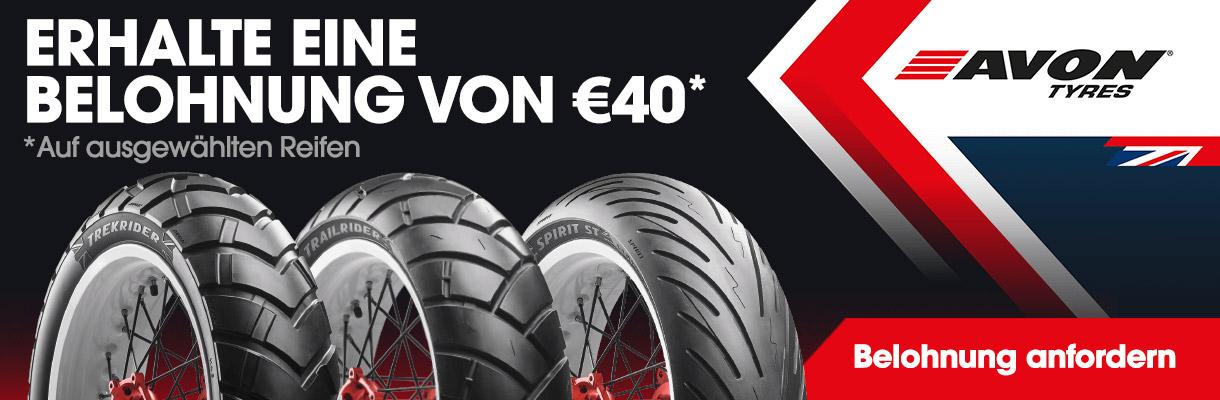 Avon Cashback 40 EURO Banner