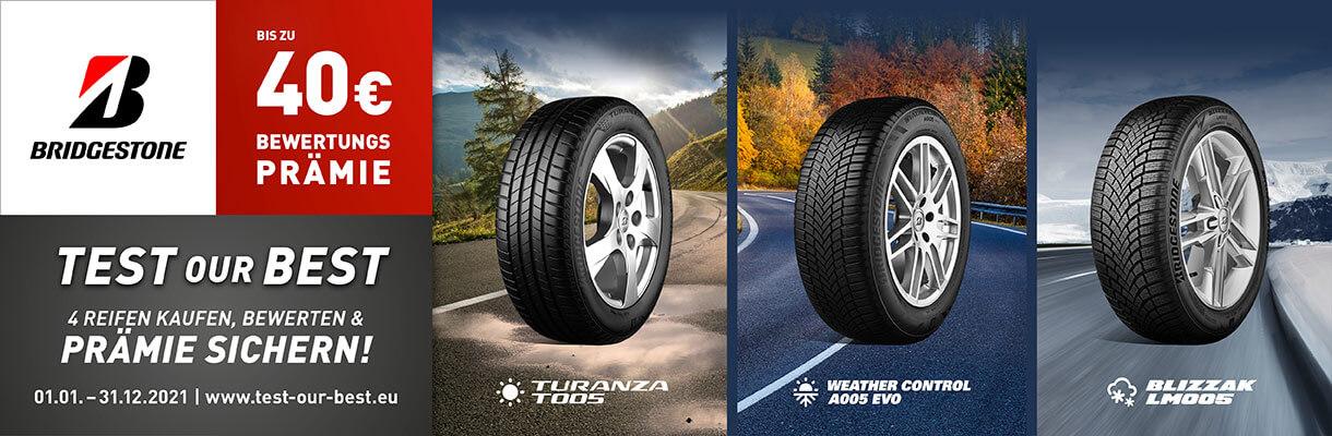 Bridgestone Test Our Best 2021