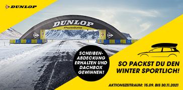 Dunlop Cashback Aktion