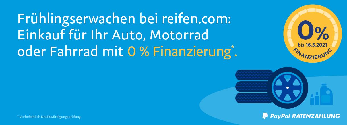 PayPal - 0 % Finanzierung