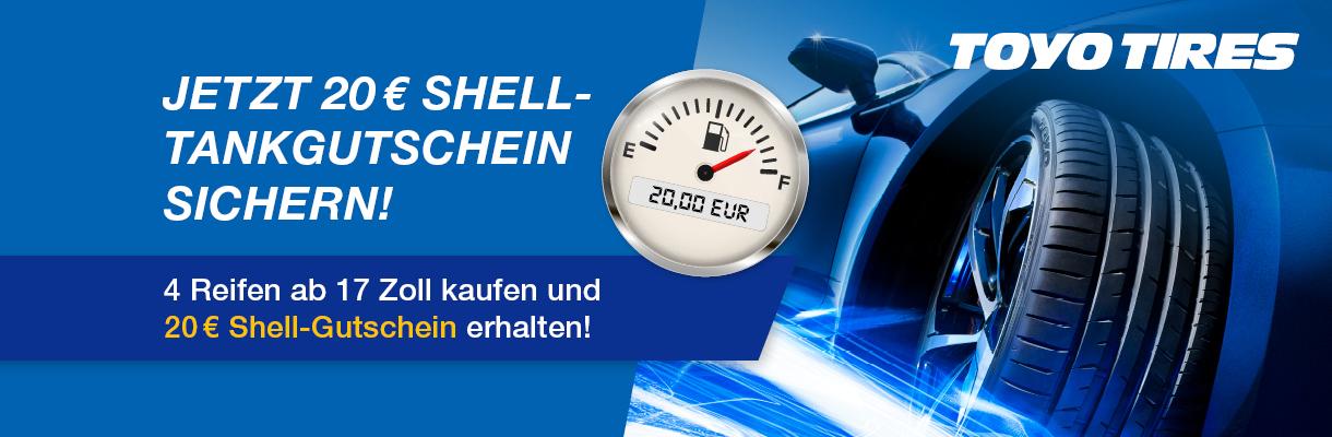 Toyo Shell Tankgutschein