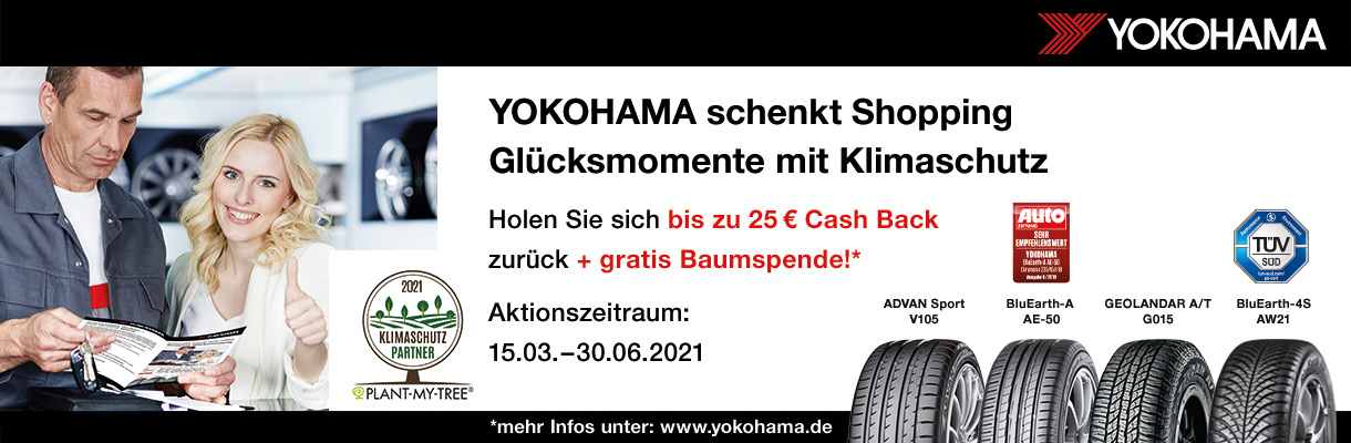 Yokohama Aktion Cashback