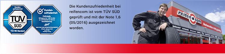 reifen.com Kundenzufriedenheit Note 1,7